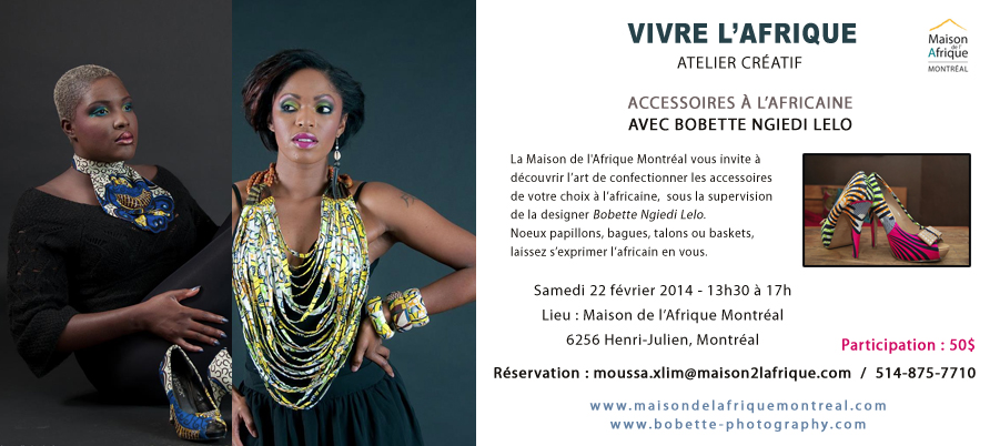 Atelier - Maison de l'Afrique Montréal