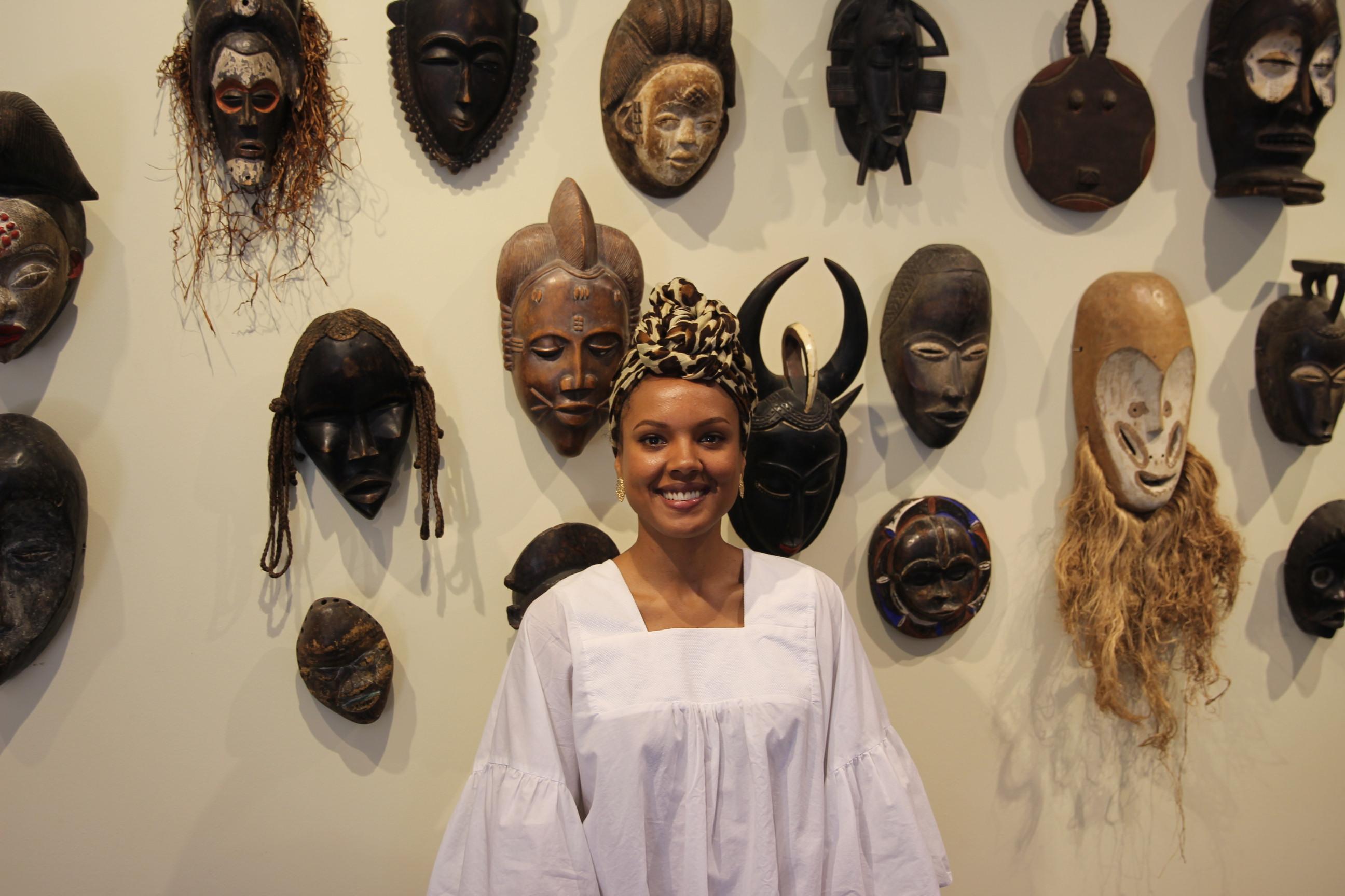 Carine mansan de passage maison de l 39 afrique montr al for Angelina maison de l afrique